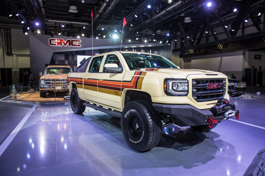 Gmc Desert Fox Debuts In Dubai Gmc Trucks Gmc Gmc Suv