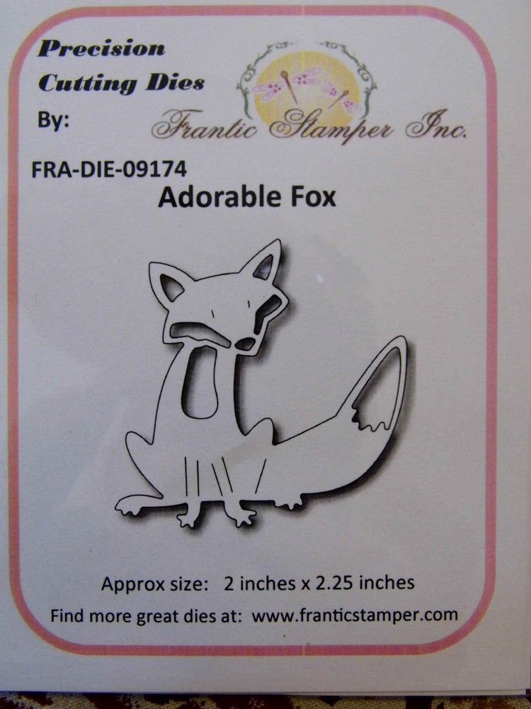 Image result for Frantic Stamper adorable fox