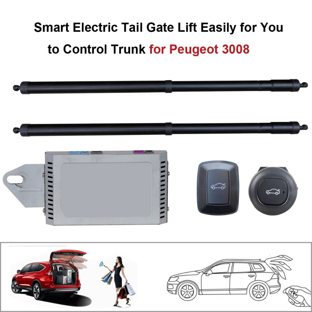 Smart Electric Tail Gate Lift Easily For You To Control Trunk For Peugeot 3008 With Electric Suction Function Smart Auto Peugeot Peugeot 3008