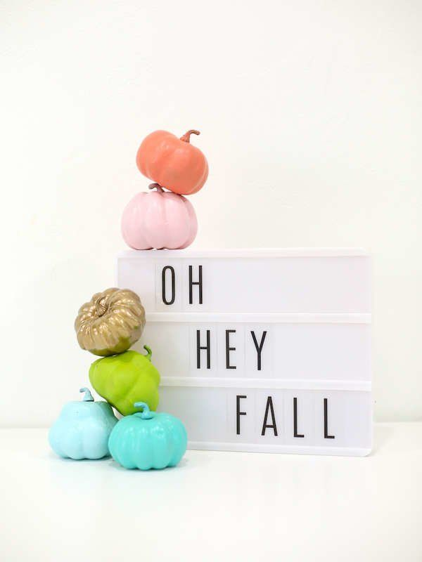 35 Easy Painted Pumpkins to Perk Up Your Halloween #paintedpumpkins
