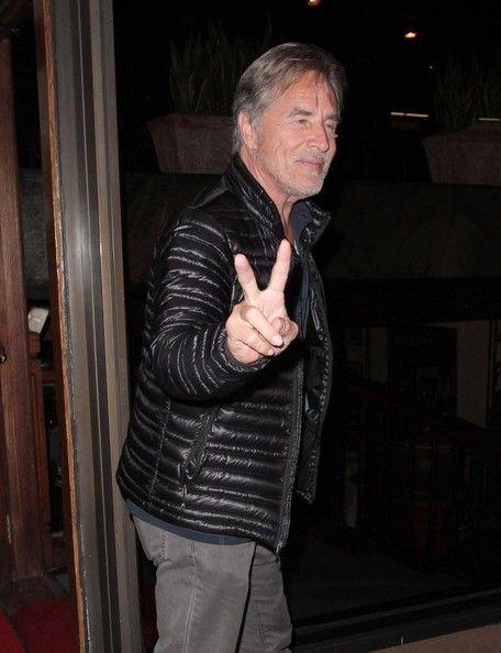 Don Johnson Photos: Don Johnson Gets Dinner in Hollywood