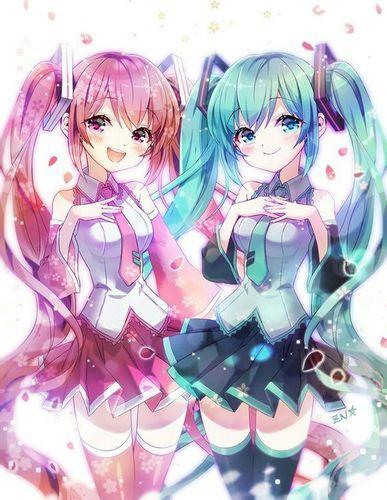 Miku+&+Sakura!!+:+Miku+&+Sakura!!+ +darkotaku123