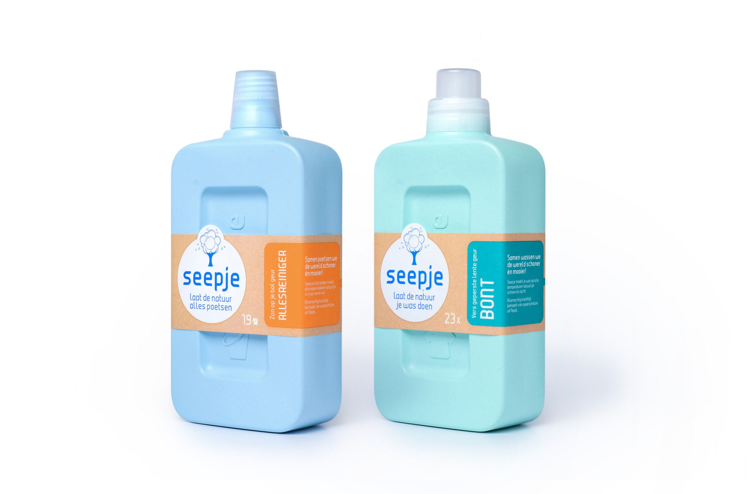 Seepje Is A New Laundry Detergent With Packaging That Repurposes