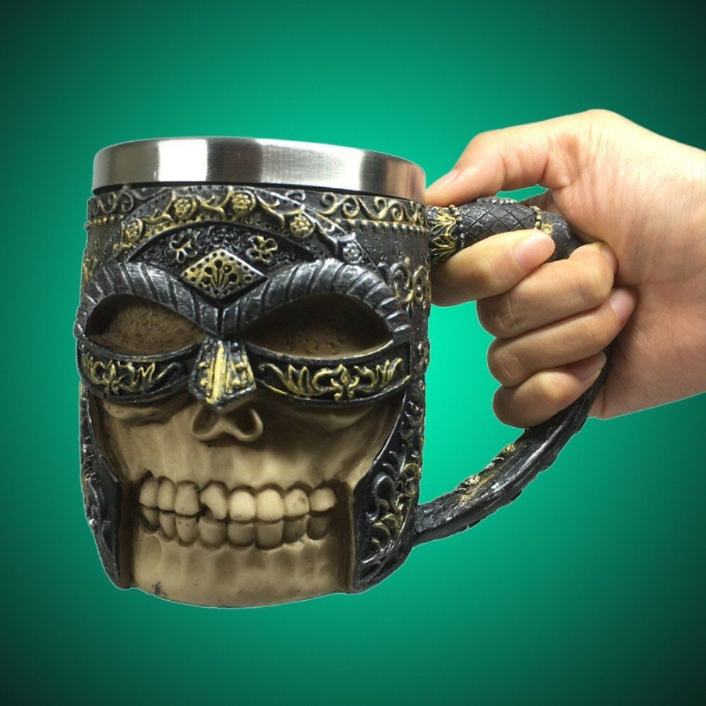 Mug 3D Celtic Skull Warrior 400 ml