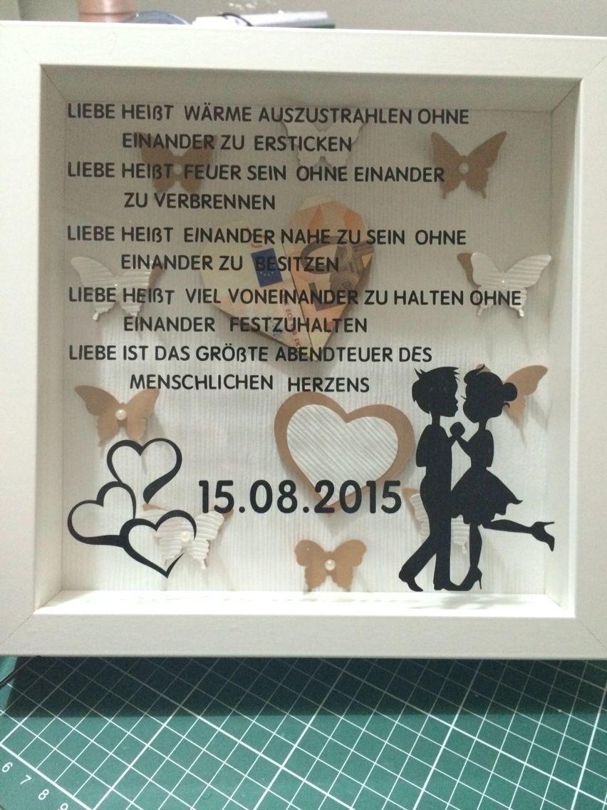 Rahmen zur Hochzeit  Ribba  Diy wedding gifts Wedding