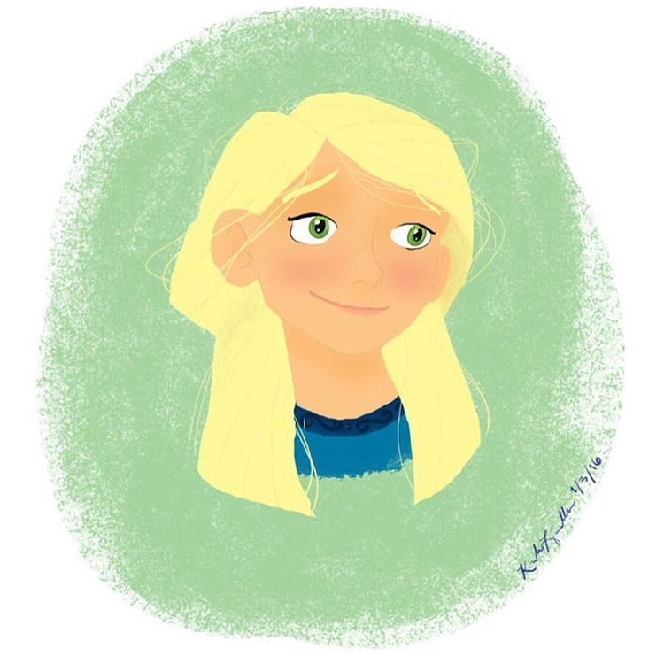 """I recently read """"Eleanor and the Iron King"""" by Julie Daines - an absolutely wonderful book that I suggest to everyone. :D Anyway, this was my attempt at drawing Eleanor with my new tablet. :) #eleanorandtheironking #juliedaines #digitalart #favoritebook"""