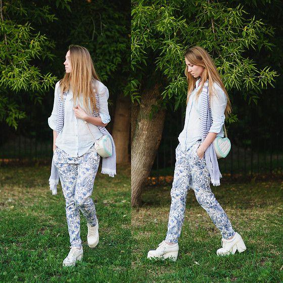 Esprit Shirt, Zara Pants, Asos Boots