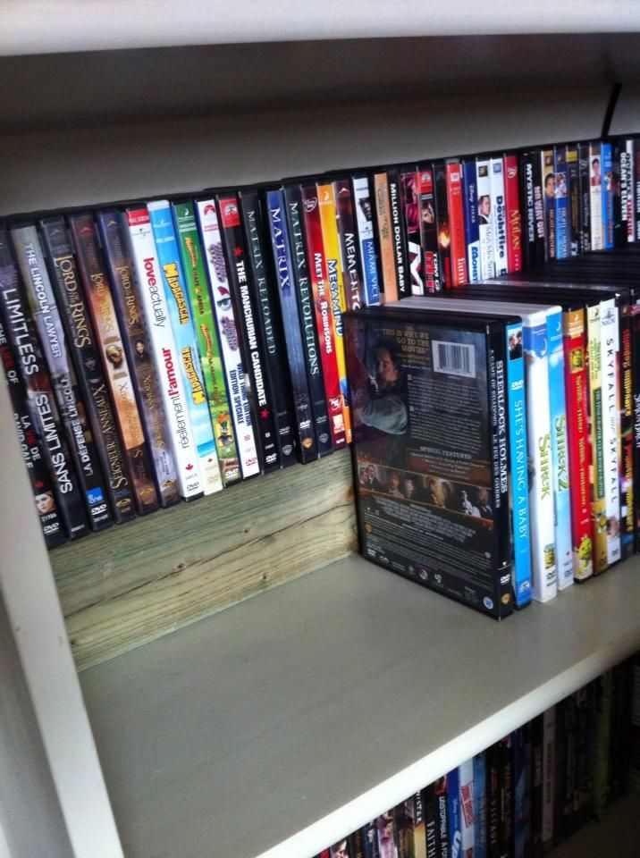 Have Too Many DVDs? Try These 27+ DVD Storage Ideas! & 17+ Unique and Stylish CD and DVD Storage Ideas For Small Spaces ...