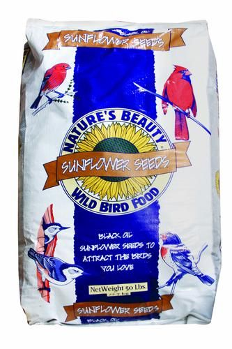 Nature S Beauty Sunflower Seeds Wild Bird Food 50 Lb At Menards Nature S Beauty Sunflower Seeds Wild Bird Food 50 Lb Wild Bird Food Food Accessories Food