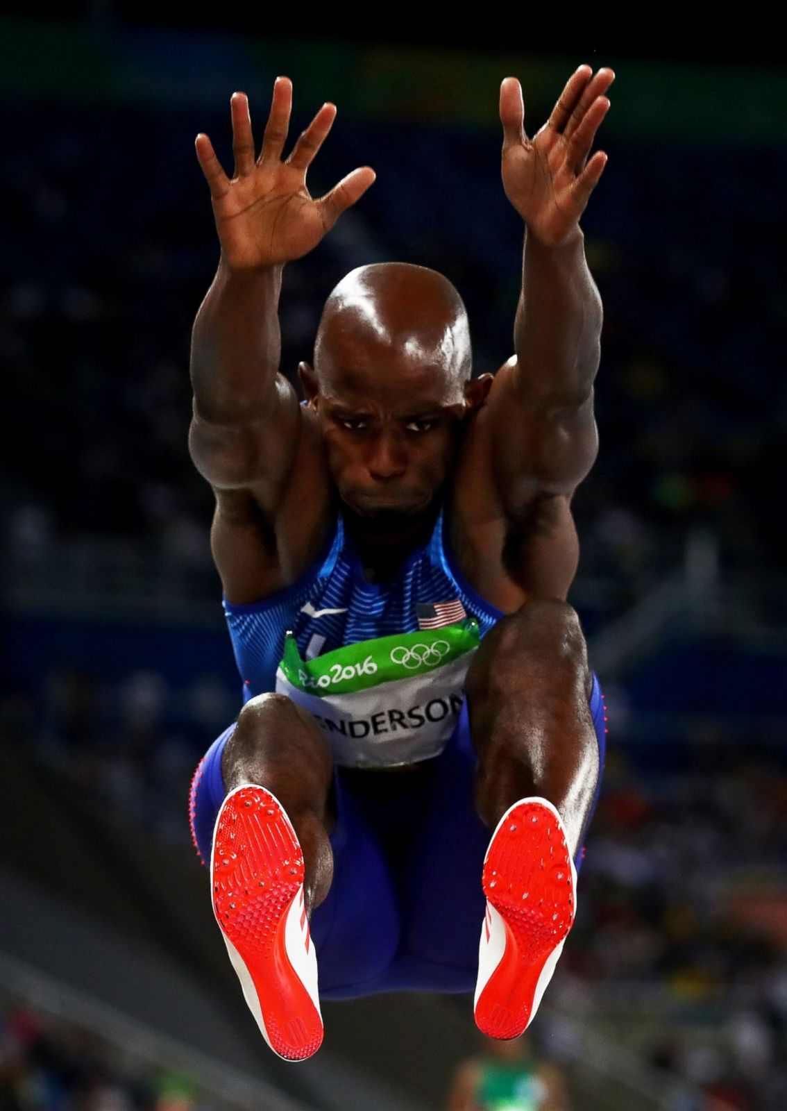 Jeff Henderson of the United States wins the gold medal in