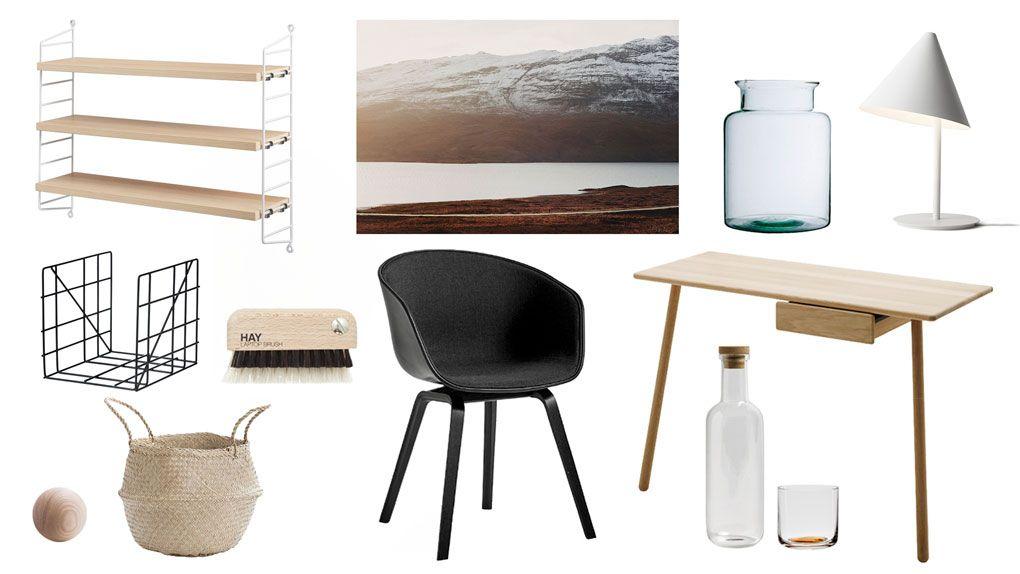 Scandinavian Home Office Essentials   Minimalist home ...