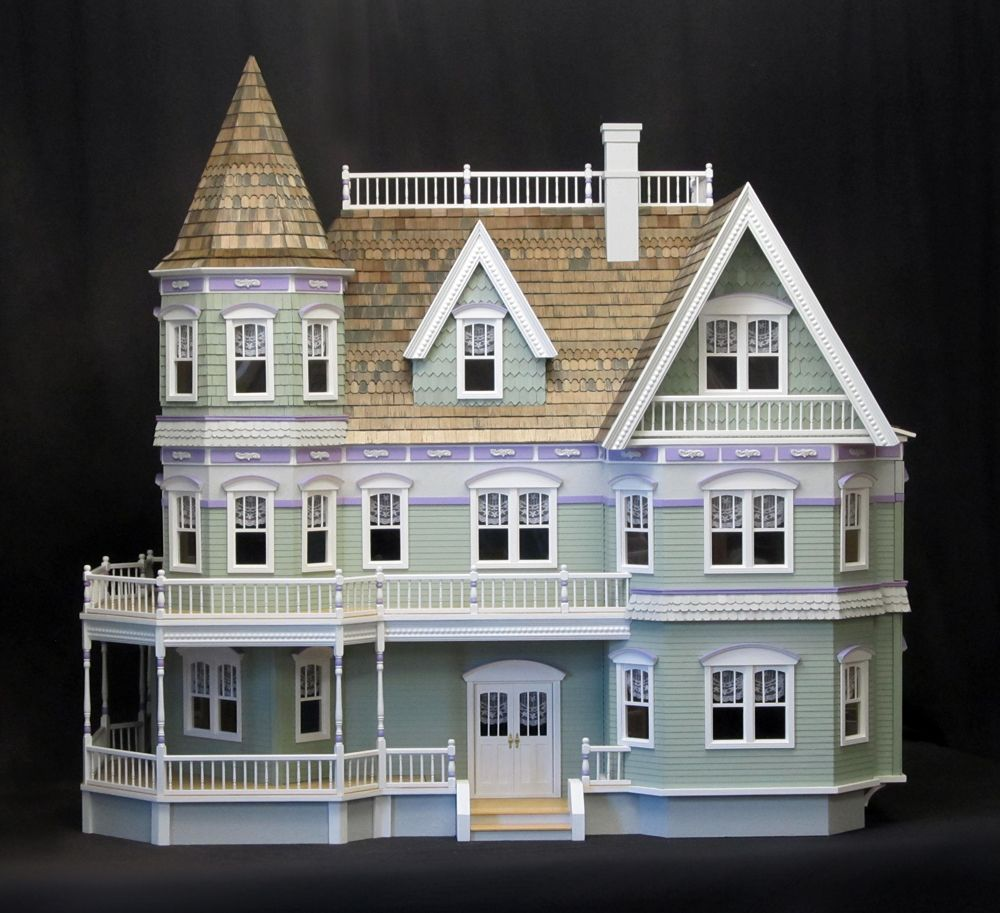 Queen Anne Dollhouse By Real Good