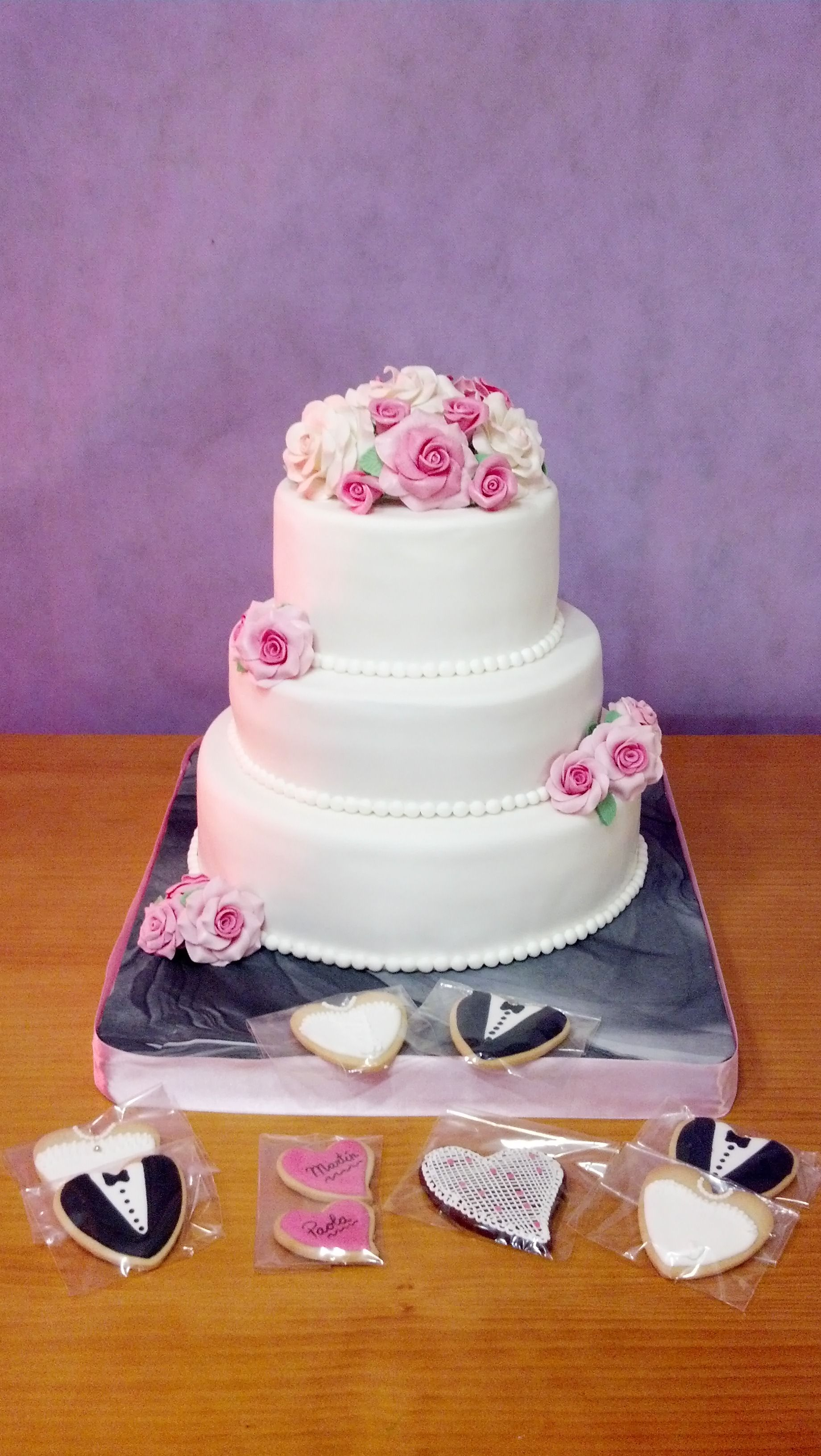 Mi primera tarta de boda My first Wedding cake