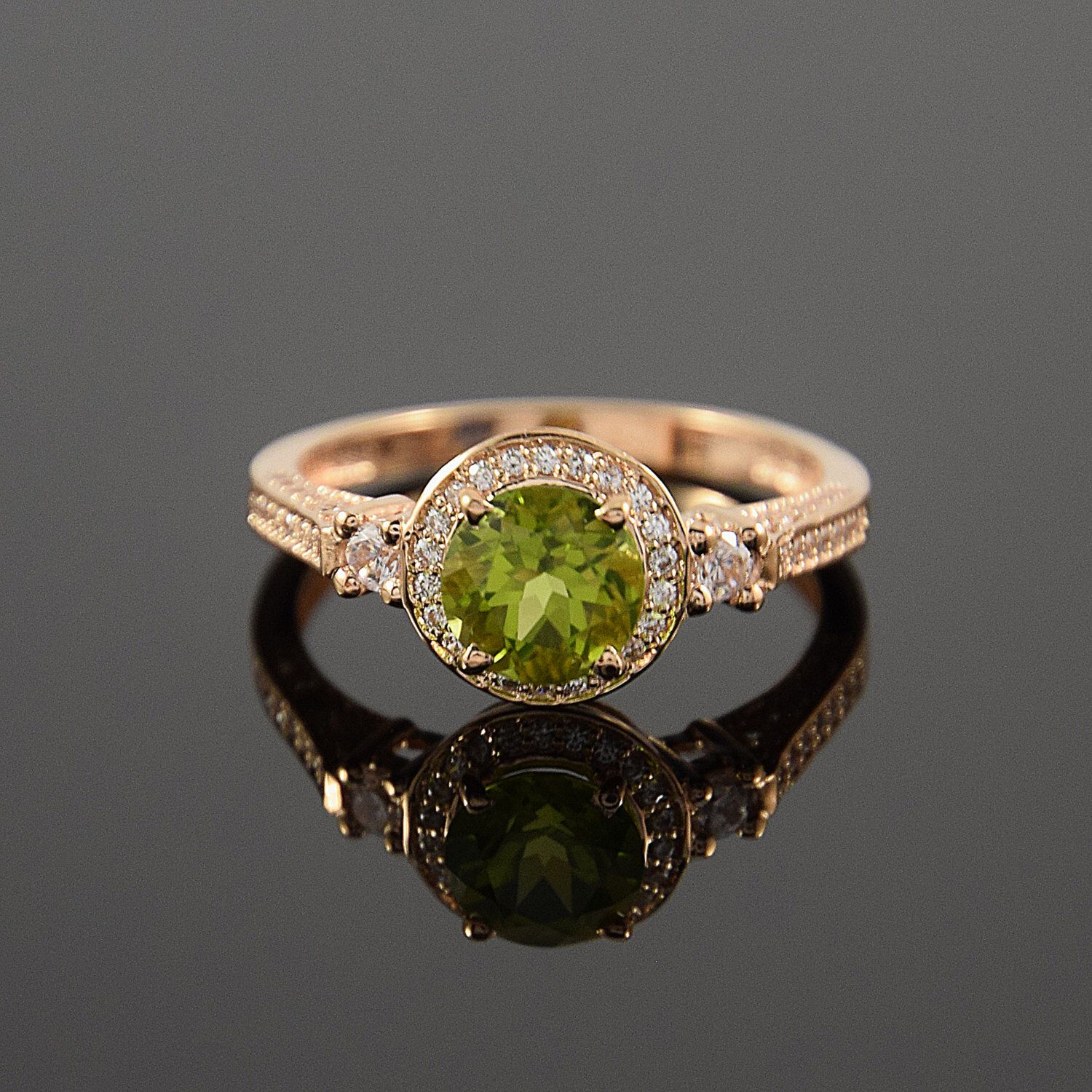 jewellers peridot birthstone august rings engagement westdale