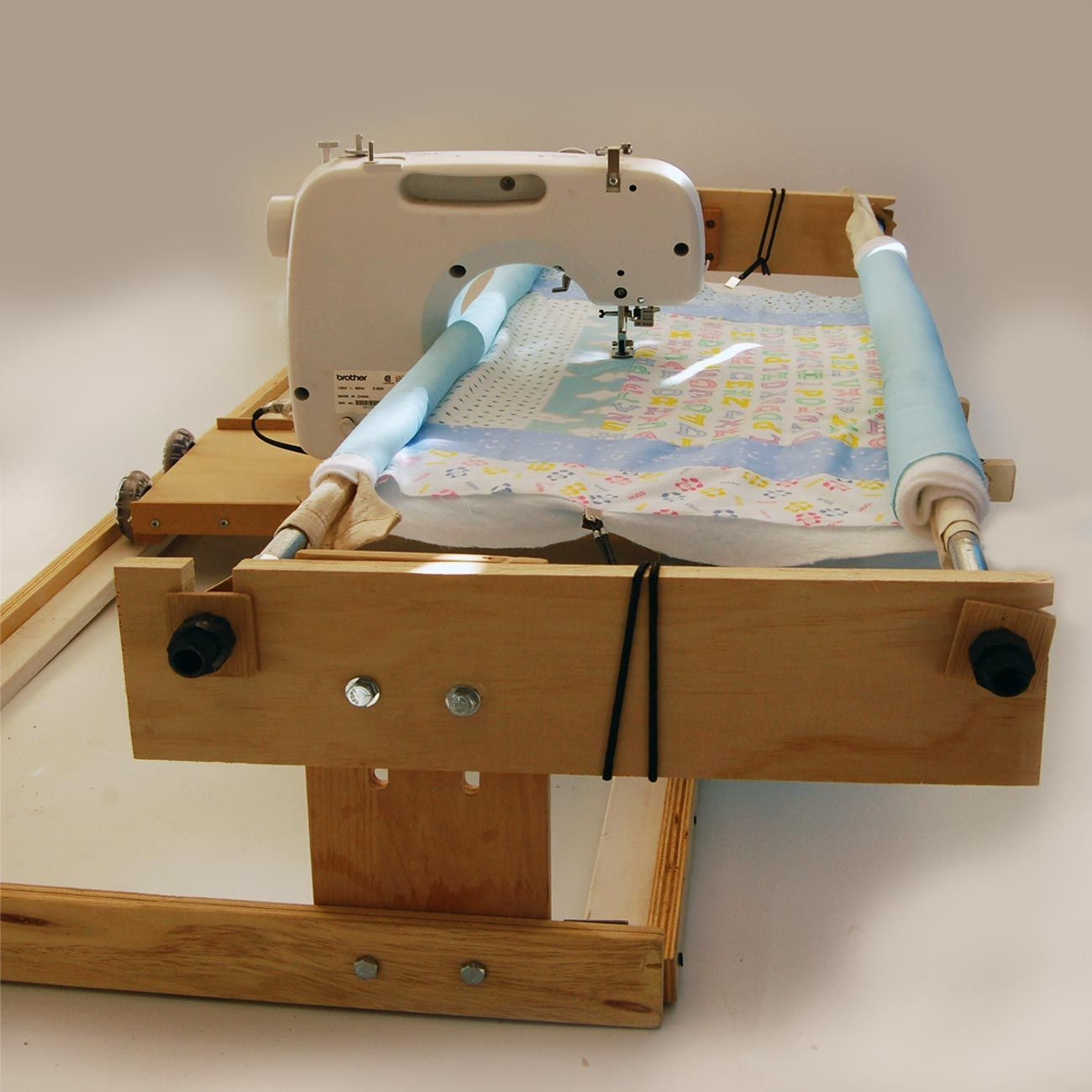 Track & Carriage 2 Roll Quilt Frame Kit 8