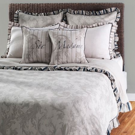 I pinned this Belina Bedding Set from the Natural & Neutral event at Joss and Main!