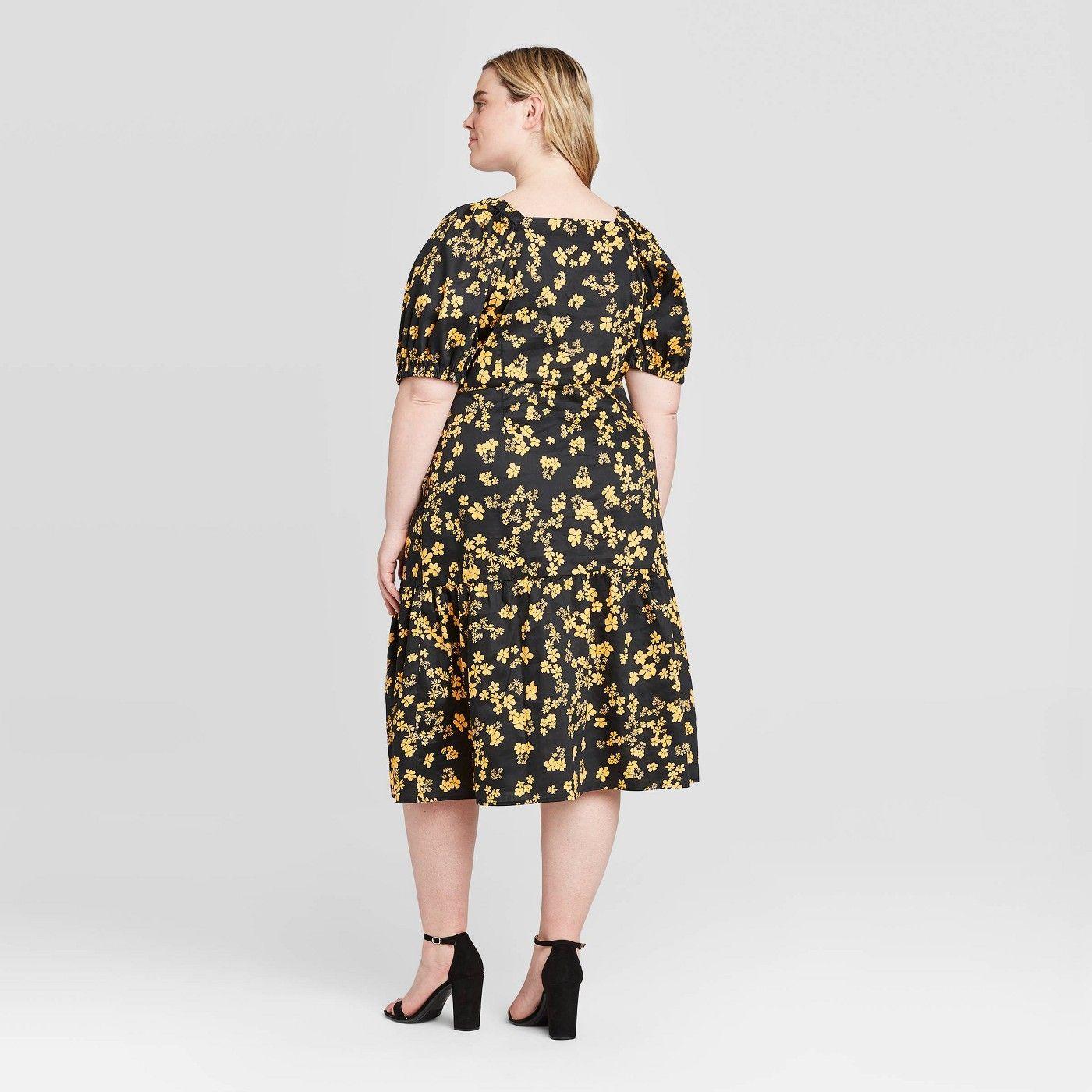 Affiliate Aff Midi Short Sleeve Dress Dresses Casual Fall Dresses [ 1400 x 1400 Pixel ]