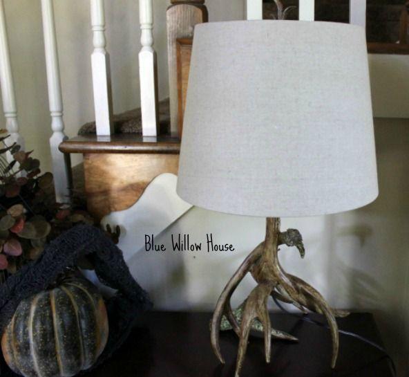 Antler Lamp 1