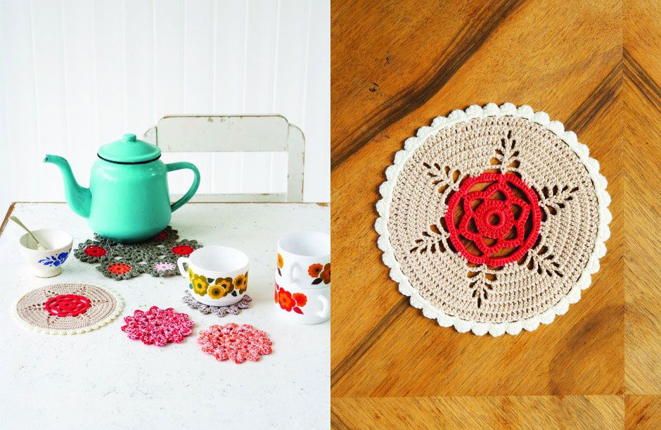 Mollie Makes Haakpatroon Doily - Jip by Jan