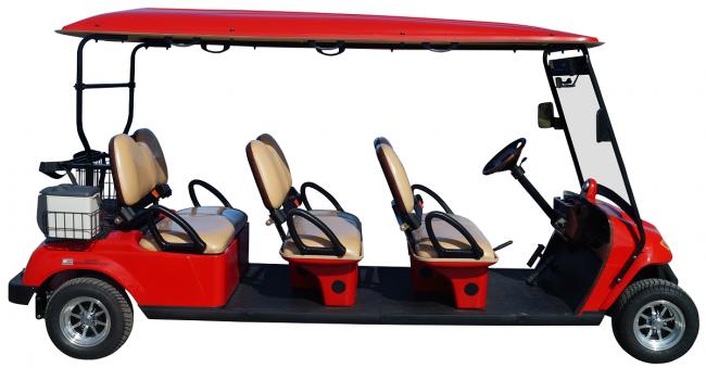 6 Passenger Street Legal Golf Cart - Forward Facing - $9,900.00