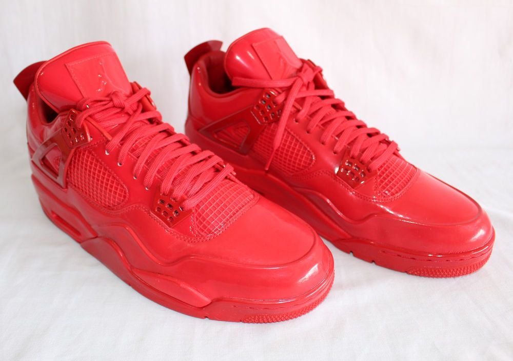 new style 6923a b9752 ... sweden 2019 outlet 26392 ca78b nike air jordan 11lab4 university red  patent leather size 13 719864 ...