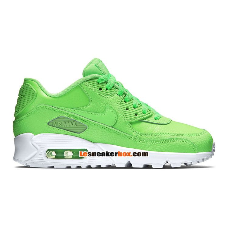 air max 90 leather blanche homme