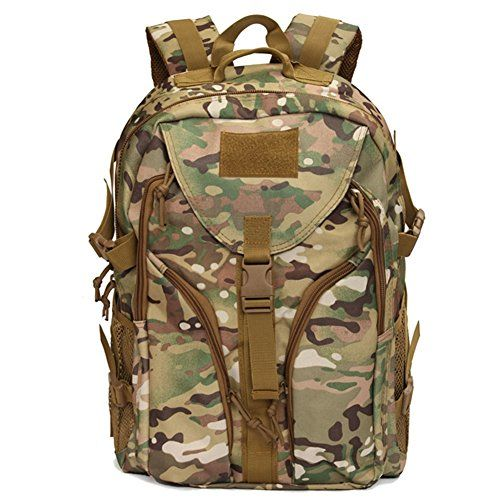 Tanchen 40L Nylon Rucksack Backpack Rucksack Outdoor Sports Camping Hiking  Bag CP -- To view 15a1cce2e6fc7