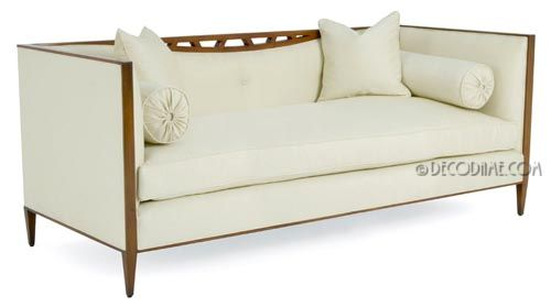 High Back Panache Double Sided Chair Banquette
