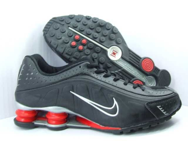 Nike Shox R4 - Black/Red/Silver