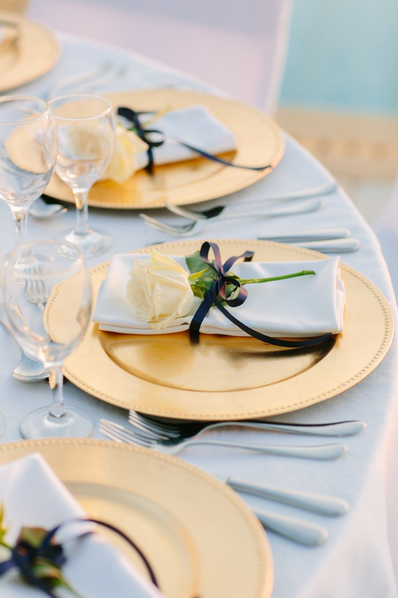 Greek Table Setting Decorations