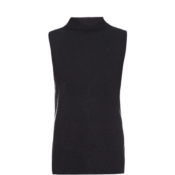 The Row Leona merino wool and cashmere blend sweater ($414