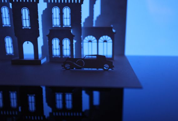 What detail! Creative Review - The Horrorgami Show