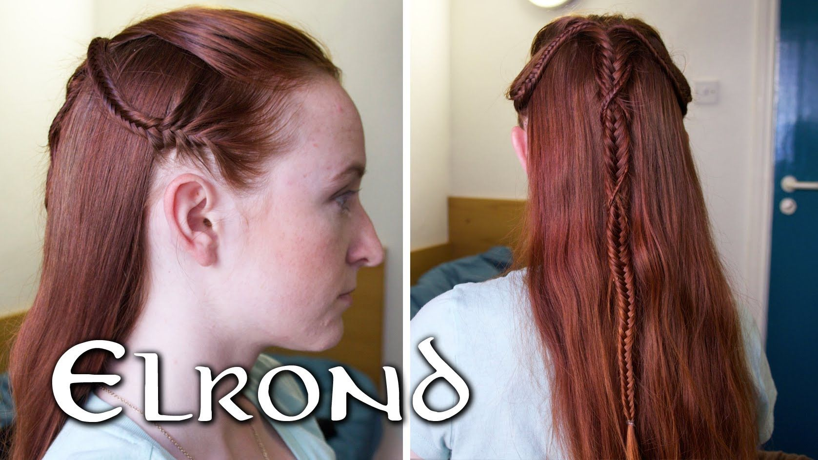 Fine Elronds Prologue Hairstyle From The Fellowship Of The Ring Lord Hairstyle Inspiration Daily Dogsangcom