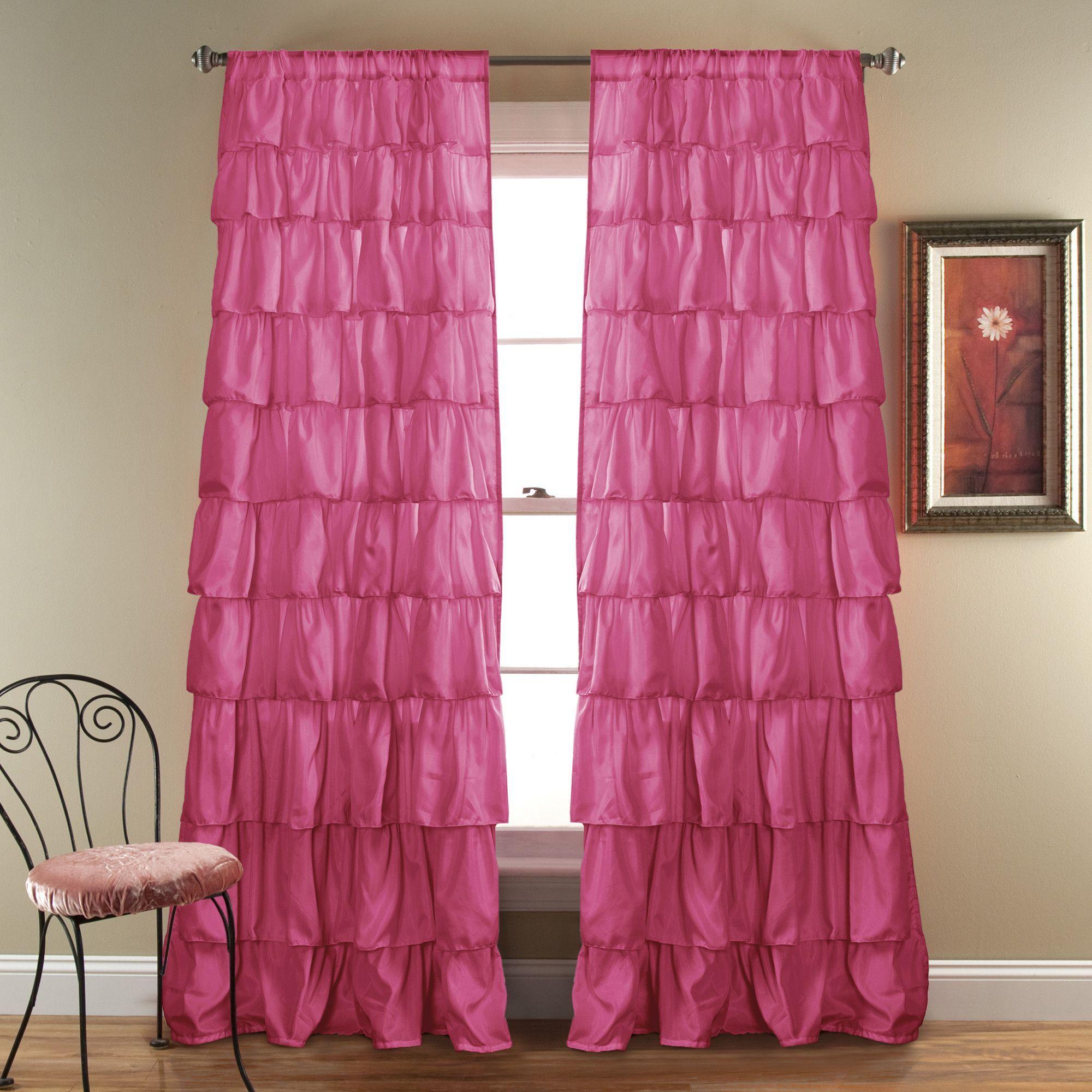 Ruffle window curtain - Ruffle Window Curtain