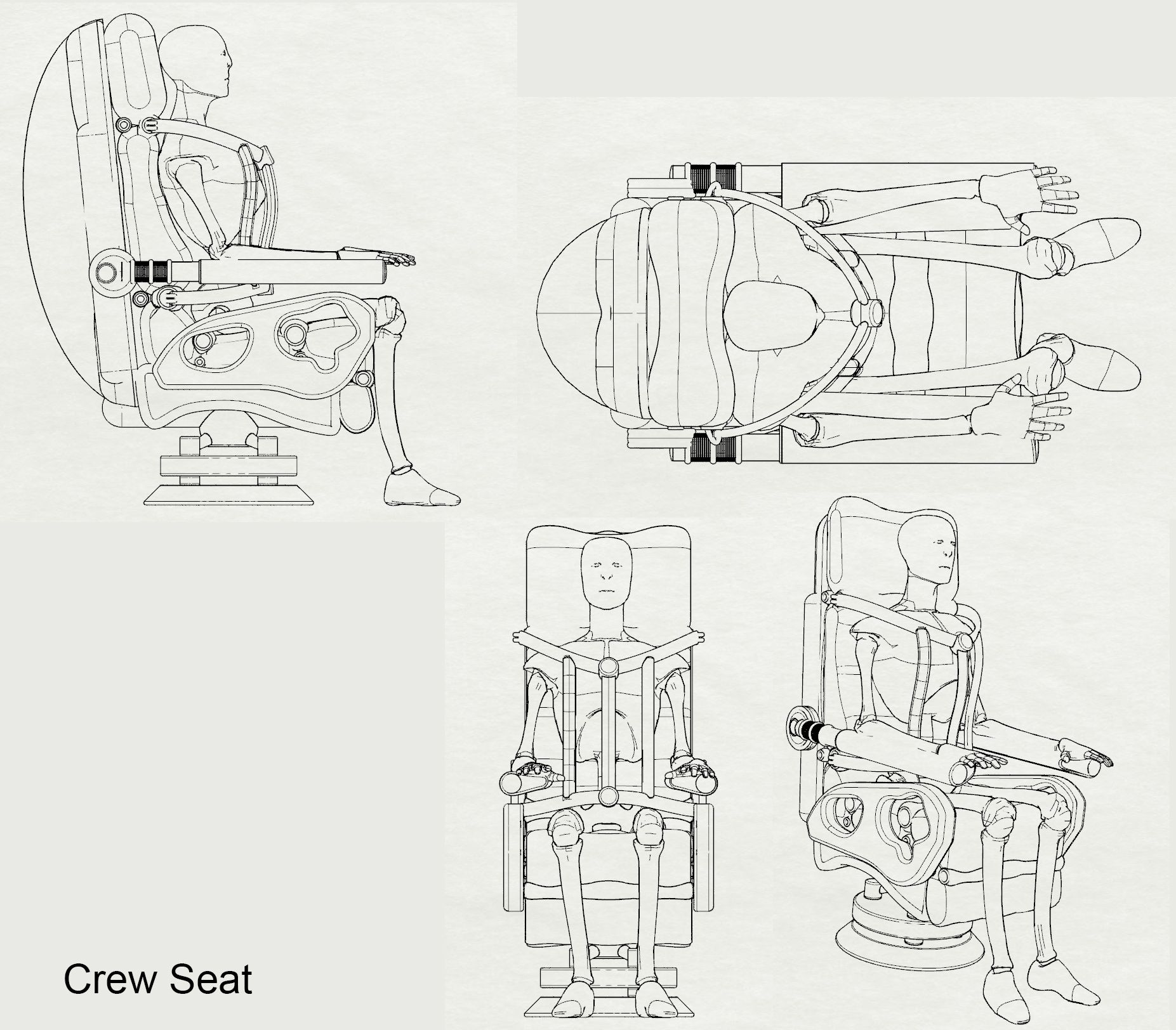 Crew Seat Consolidated View