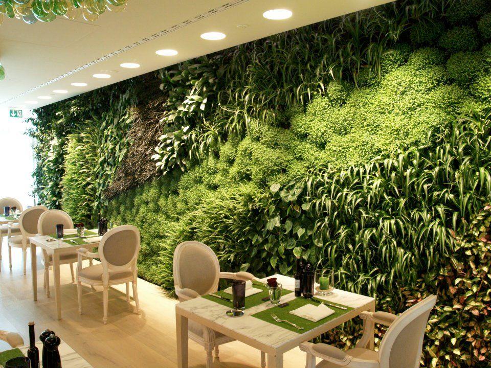 Jardim vertical em interiores - wwwcasaeciaarqbr Cursos on line