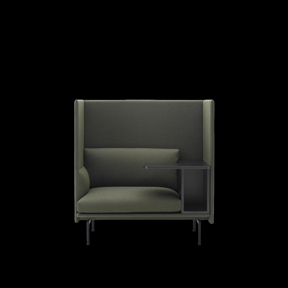 Outline Highback Work For Modern Work Life Single Sofa Chair Furniture Sofa Design