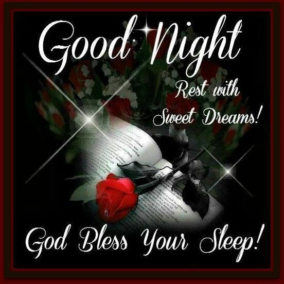 God Bless Your Sleep Gnite Blessingsgreetings Good Night