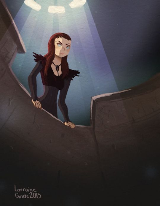 Through The Moon Door By Lorraine Grate Asoiaf Art In 2019 Game