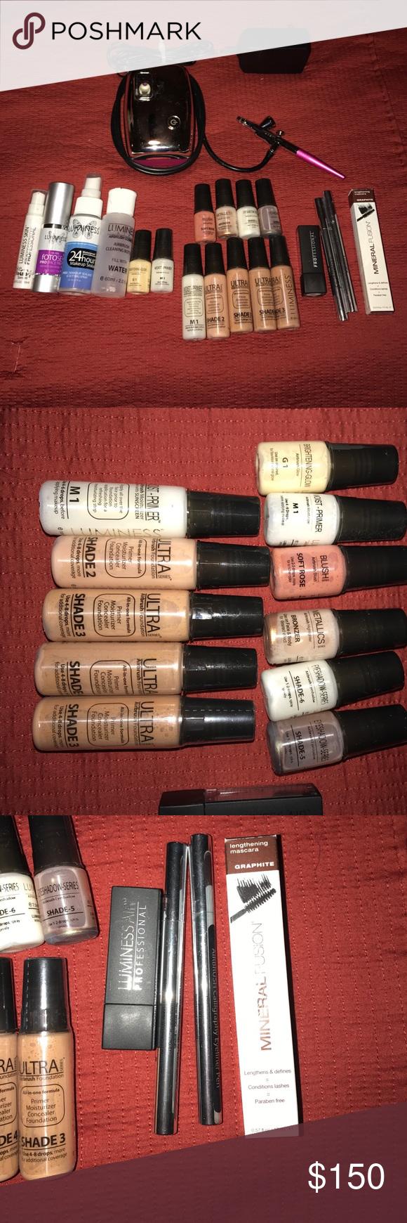 price drop* Luminess Air airbrush w/ makeup Makeup
