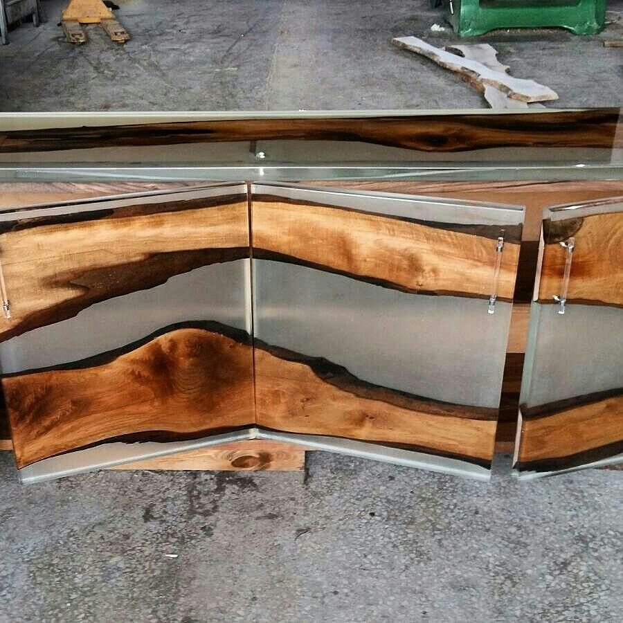 pin by deniz kocaman on resin wood table pinterest. Black Bedroom Furniture Sets. Home Design Ideas