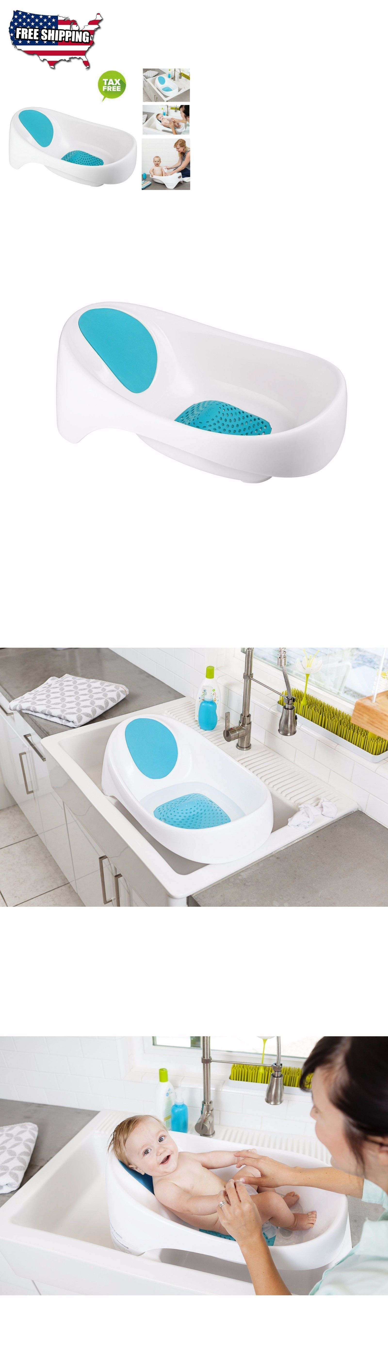 Baby Bath Seat For Sink Newborn Tub Bathtub Toddler Infant Chair ...