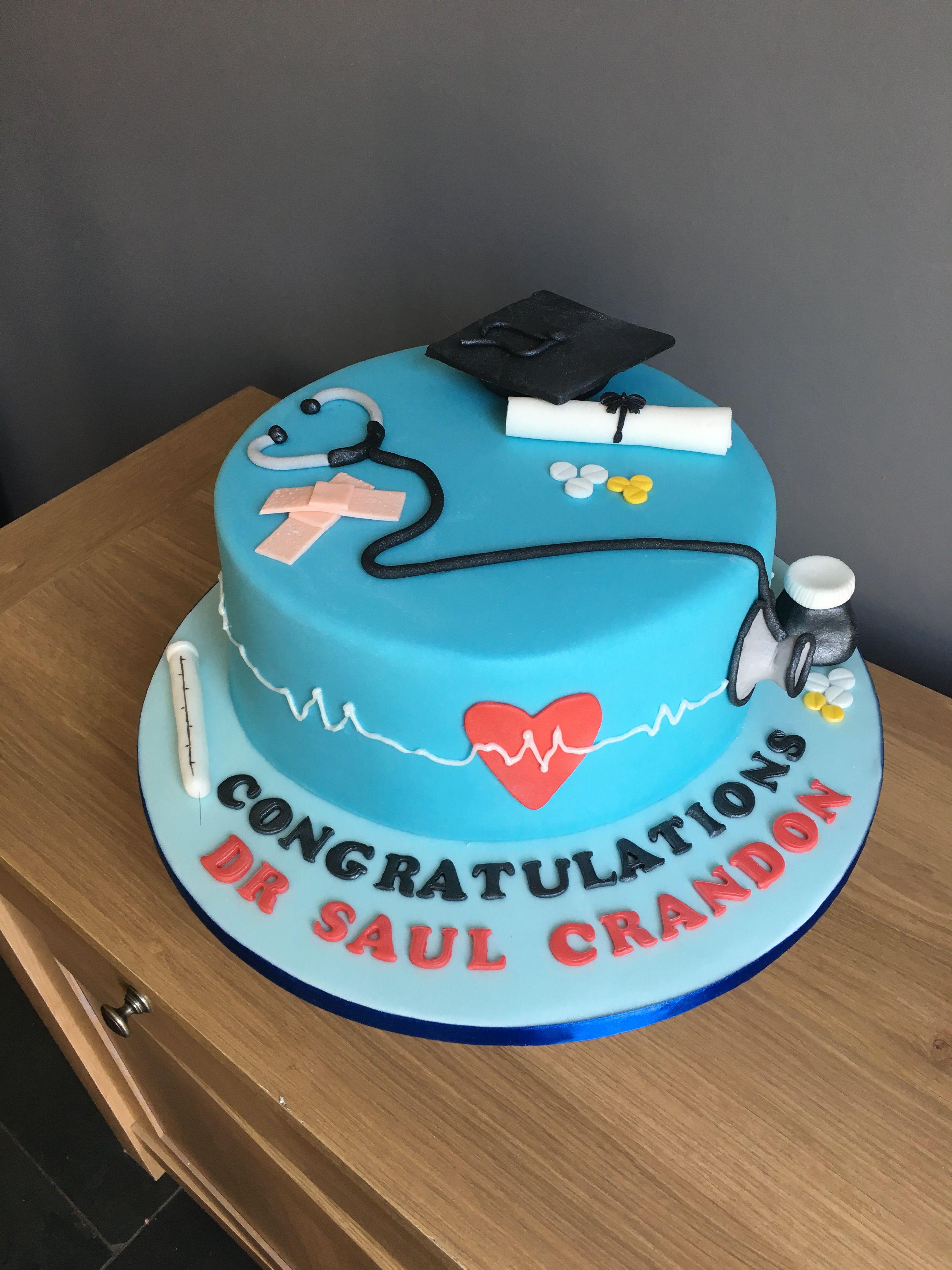 Graduation cake graduation doctor medicine graduation