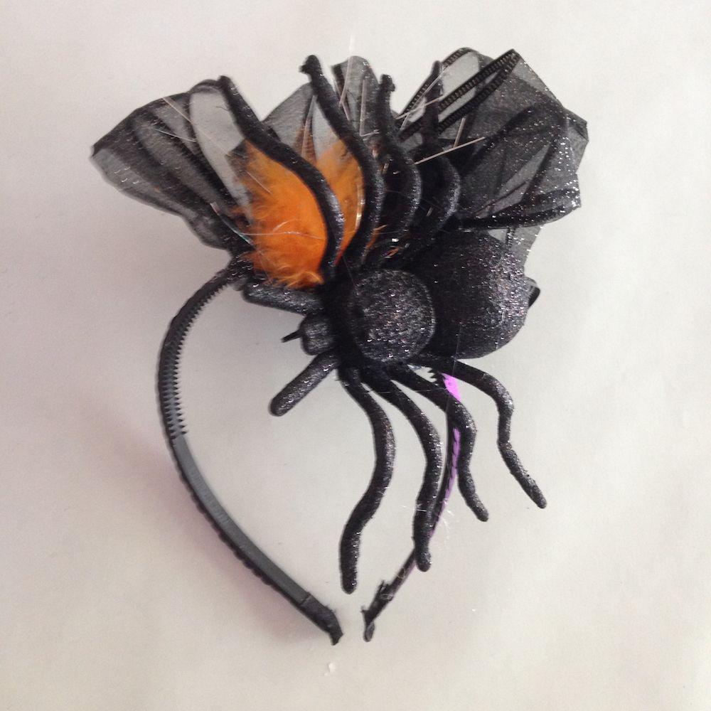 Diy Halloween Fascinator Flower Headband Diy Halloween Headbands Halloween Headband Halloween Accessories Diy