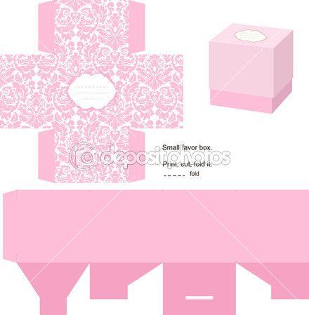 Modelo de caixa de presente — Ilustração de Stock #7352264                                                                                                                                                      Mais
