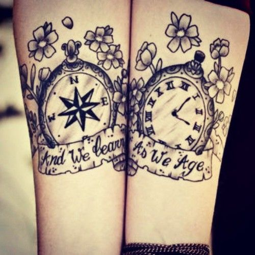 Matching Tattoo Ideas For Best Friends Tumblr