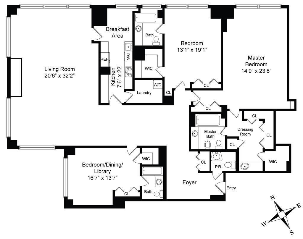 Inside Soccer Star Cristiano Ronaldo S New Trump Tower Apartment Tower Apartment Apartment Floor Plans Cristiano Ronaldo News