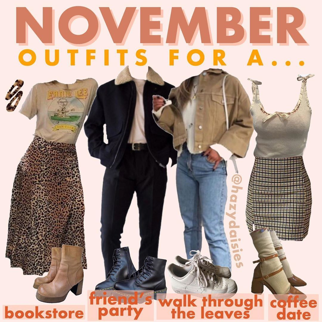 Beth On Instagram Thank You To Everyone For Your Suggestions For The Outfit Names 3 Which Is Ur Fave Outfit November Outfits Retro Outfits Vintage Outfits