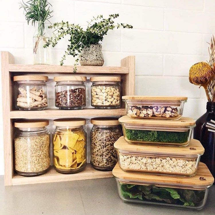 zero waste inspiration on instagram being prepped and ready for the week ahead it s on kitchen organization zero waste id=28325