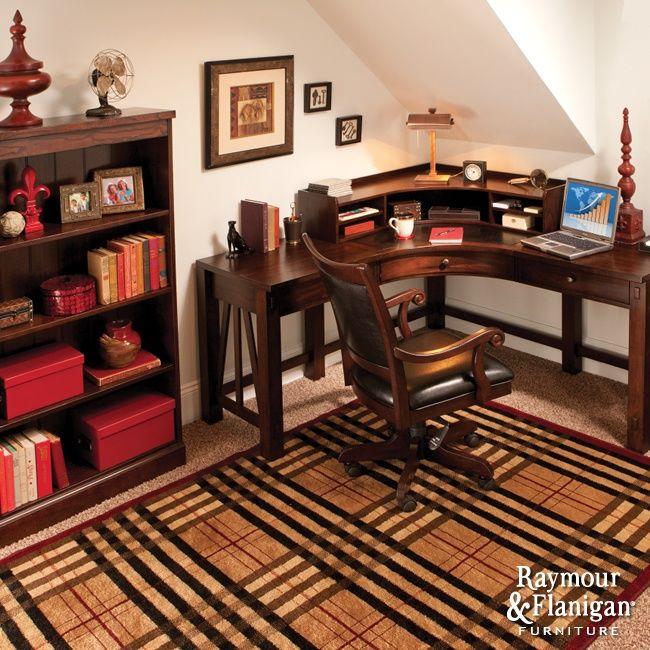 Charming Basement Home Office Design Ideas